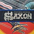 SAXON Heavy Metal for Muthas stripe  Patch