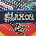 Saxon - Patch - SAXON Heavy Metal for Muthas stripe