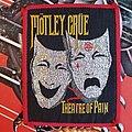 Mötley Crüe Theater of Pain original Patch