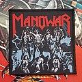 Manowar - Patch - Manowar Fighting the World original + comparison