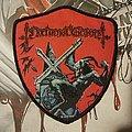 Nocturnal Graves - Patch - Nocturnal Graves - Satan's Cross shield