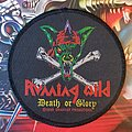 Running Wild - Patch - Running Wild - Death or Glory original  + leather