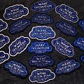 Mare Infinitum hand embroidery pathces Patch