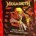 Patch - Megadeth Back Patch