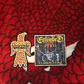 Visigoth Raven and Entombed Clandestine patches