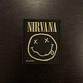 Nirvana - Smiley patch