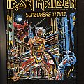 Iron Maiden - Somewhere in Time back patch