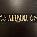 Nirvana - Smiley strip patch