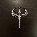 Saor - Skull & Sword logo patch