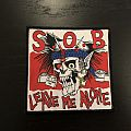 S.O.B - Patch - S.O.B - Leave Me Alone patch