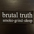Brutal Truth - Smoke Grind Sleep patch
