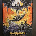 Iron Maiden - Flight of Icarus back patch