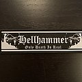 Hellhammer - Only Death Is Real strip patch
