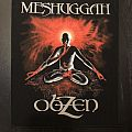 Meshuggah - Obzen back patch