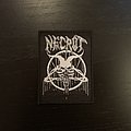 Necrot - Patch - Necrot - Pentagram patch