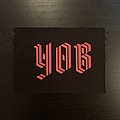 YOB - Patch - Yob - new logo screen-printed patch