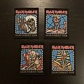 Iron Maiden - Legacy of the Beast tour patches