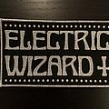 Electric Wizard - large logo back patch
