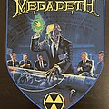 Megadeth - Patch - Megadeth - Rust in Peace back patch