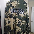 Disembodied camo hoodie
