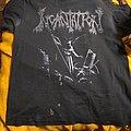 "INCANTATION ""Upon The Throne Of Apocalypse"" XL shirt 1995"
