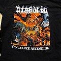 "DIABOLIC ""Vengeance Ascending"" 2001 two-sided Gildan XL  shirt"