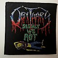 Obituary - Slowly We Rot patch