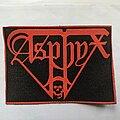 Asphyx - Patch - Asphyx rubber patch