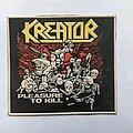 Kreator - Patch - Kreator rubber patch