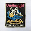 Onslaught - Patch - Onslaught rubber patch