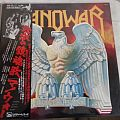 MANOWAR Battle Hymns LP Japan with Promo Poster
