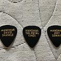 Manowar - Other Collectable - Picks Kings of Metal tour 89