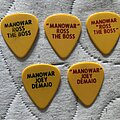 Manowar - Other Collectable - Picks tours 84 to 87