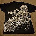 Viscera Trail Spooky Skeleton Black T-Shirt
