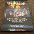 Destruction Australian Tour 2018 Tour Poster Signed