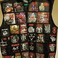 Gorgasm - Battle Jacket - Battle Vest In Progress.