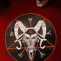 Beherit - Patch - Beherit ( Down of Satan's Millenium) Embroidered BackPatch