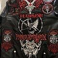 Blasphemy - Battle Jacket - Bestial Faux Leather Jacket