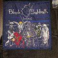 Black Sabbath - Patch - Back Sabbath live evil woven