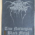 DarkThrone - True Norwegian Black Metal BackPatch