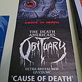 Obituary - Cause of Death Promo Poster