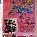 Death - Leprosy Magazine Interview/Poster 1988 Other Collectable