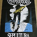 Sepultura - Escape to the Void Blue Grape Merchandise Poster