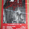 Death - The Inhuman Tour 1992 Poster Other Collectable