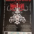Marduk - Other Collectable - Marduk / Enslaved Winter War Tourposter