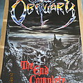 Obituary - The End Complete Blue Grape/Anabas Promo Poster early 90ties Other Collectable