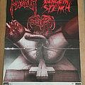 Pungent Stench / Master / Abomination Fleisch TourPoster 1990