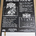 Immortal - Other Collectable - Immortal/Marduk Sons of Northern Darkness TourPoster 1994