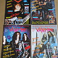 Xysma - Other Collectable - Vampire Magazine / Fanzine Nr 1 - 4  1991