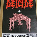 Deicide - Other Collectable - Deicide - Show no Mercy European Tour 1990 Poster
